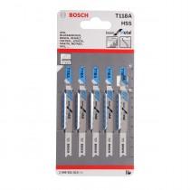 Bosch Jigsaw Blades - T 118 A (5 pack)