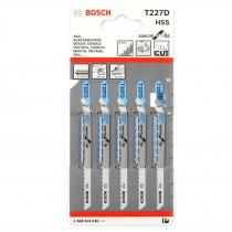 Bosch Jigsaw Blades - T 227 D (5 pack)